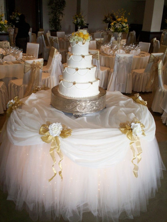 Images Of Cake Tables For A Wedding : Cake Table Decor and Cake Stands Gallery   SBD Event ...