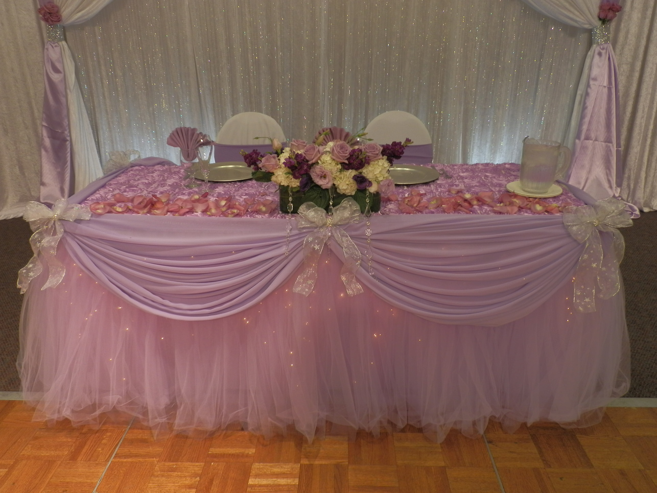 Buffet table skirting - Fantasy Table Skirts Sbd Event Designs Is The Creator Of The One And Only Illuminated Skirt Named Fantasy Table Skirt Patented The Fantasy Table Skirt