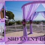 SBD Event Design Round Canopy - Lavender Canopy